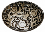 38mm Small Floral Belt Buckle. Code LPR009